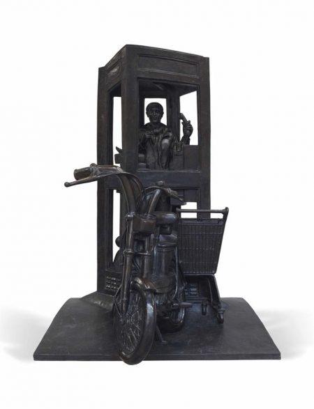 Andre Barelier - La Cabine Telephonique-1980
