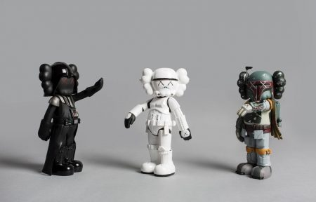 KAWS-Set Of Three Companions: Storm Trooper, Darth Vader, Boba Fett-2013