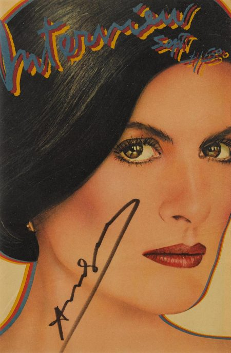 After Andy Warhol - Interview Magazine (Paloma Picasso, Vol. 10 No. 9), September-1980