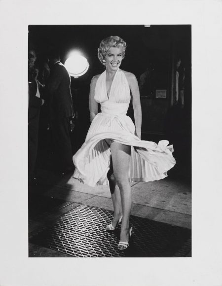 George Zimbel-George S. Zimbel - Marilyn Monroe On The Set Of 'The Seven Year Itch', September 11-1954