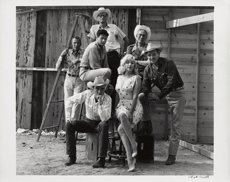 Reno, Nevada, (Marilyn Monroe And The Cast Of 'The Misfits')-1961