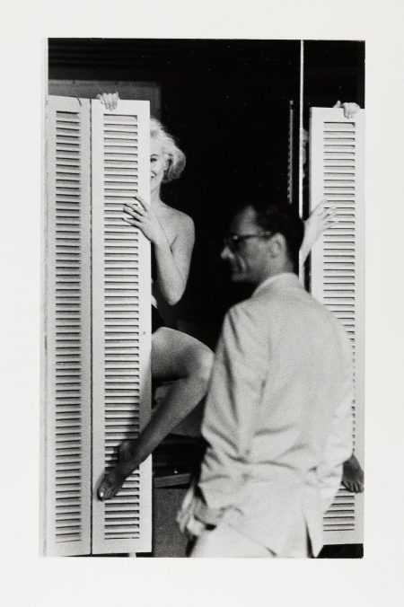 John Bryson - Marilyn Monroe And Arthur Miller; And Marilyn Descending A Staircase, Los Angeles-1960