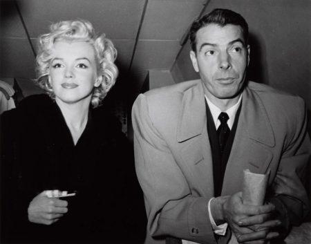 Kashio Aoki - Marilyn Monroe And Joe Dimaggio, Honeymoon Trip To Tokyo, February 23-1954