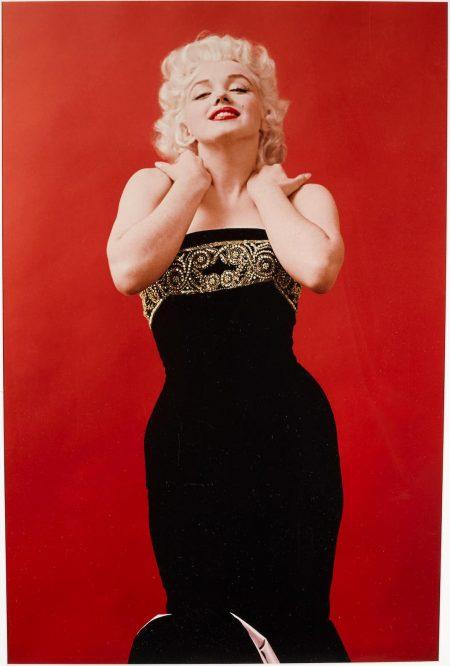 Milton H. Greene - Marilyn Monroe In Bill Blass Gown, March 28-1955