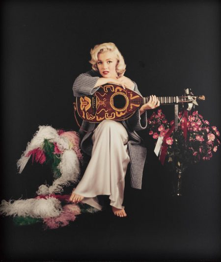 Milton H. Greene - Marilyn Monroe With Lute-1953