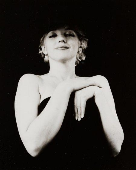 Milton H. Greene - Marilyn Monroe, The Black Sitting-1956