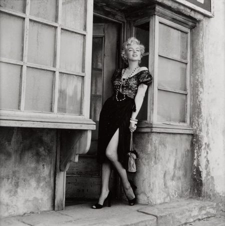 Milton H. Greene - Marilyn Monroe On The Set Of 'Bus Stop'-1956