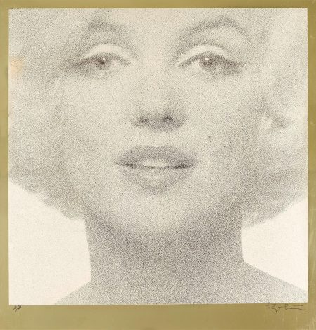Bert Stern-Head Shot (Creme On Gold)-1962