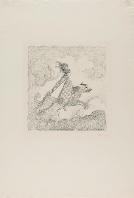 Marie Laurencin-Le Voyageuse; Jeune Filles Au Balcon (M. 38; 133)-1928