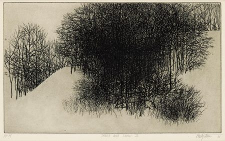 Peter Winslow Milton-Trees And Snow II (M. 15)-1961