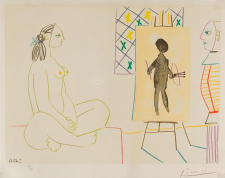 Pablo Picasso-One Plate, From Verve: Volume VIII, 29-30 (Not In Cramer)-1954