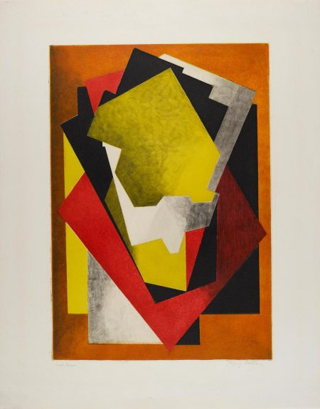 Jacques Villon-Composition (G./P. E660)-1927