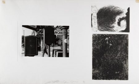 Jim Dine & Lee Freidlander - Six Plates, From Photographs And Etchings-1969