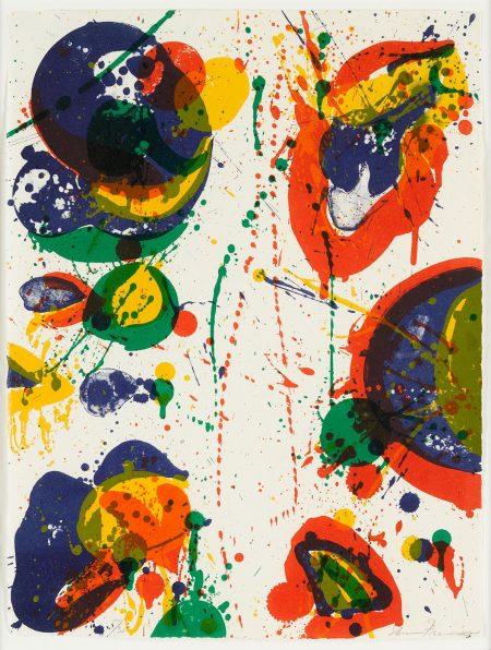 Sam Francis-For Rudd (L.L47; Sf-45)-1963