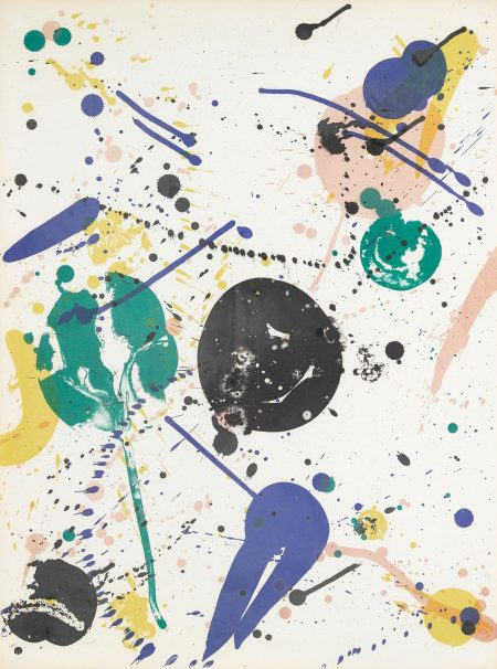 Sam Francis-Variant Of Fifty (L. L84; Sf-60)-1965