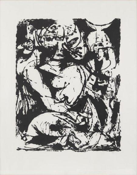 Jackson Pollock-Untitled-1951