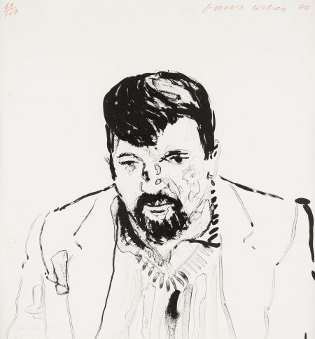 David Hockney-John Hockney(Mca Tokyo 242; G. 921)-1980