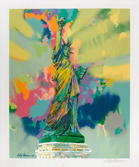 Leroy Neiman - Statue Of Liberty-1986