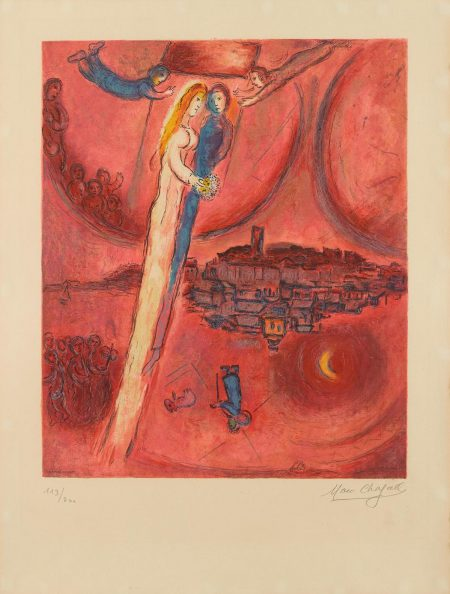 After Marc Chagall - Song Of Songs (M. Cs. 47)-1975