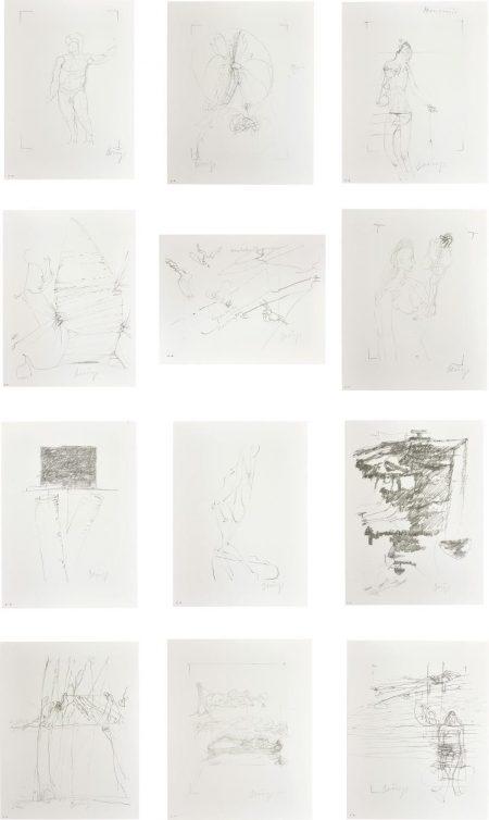 Joseph Beuys-Drawings For Codices Madrid By Leonardo Da Vinci-1975