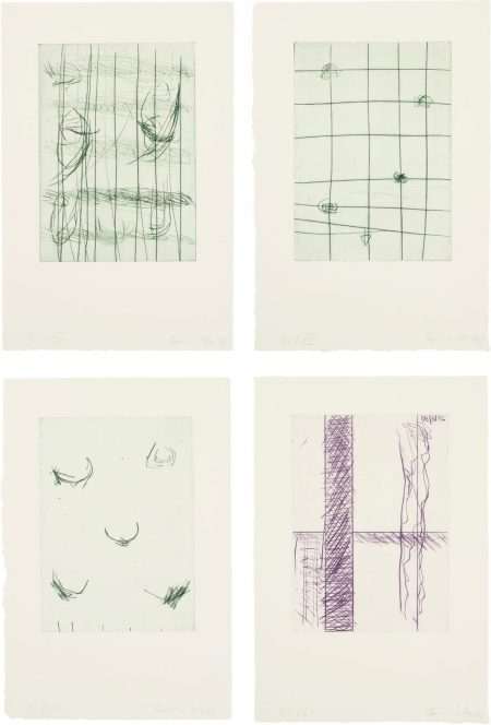 Gunther Forg-Untitled (Four Works)-1993