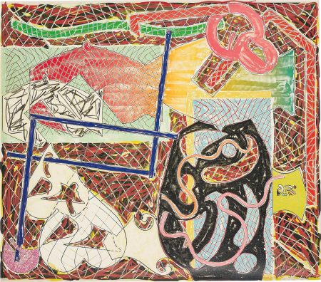 Frank Stella-Shards II, From Shards-1982