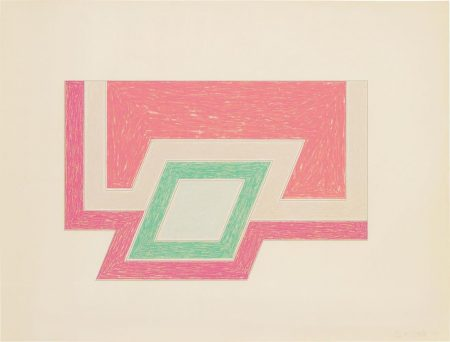 Frank Stella-Conway, From Eccentric Polygons-1974