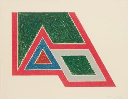 Frank Stella-Sanbornville, From Eccentric Polygons-1974