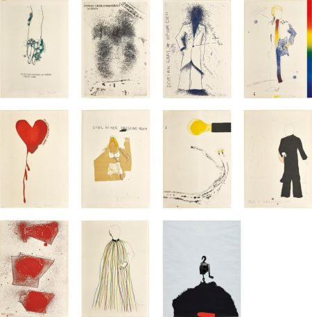Jim Dine-The Portrait Of Dorian Gray By Oscar Wilde; And Tool Box: One Plate-1966