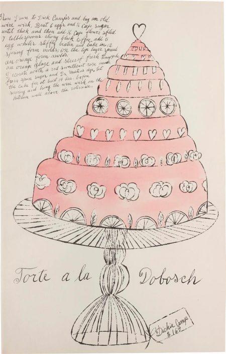 Andy Warhol-Torte A La Dobosch, From Wild Raspberries-1959