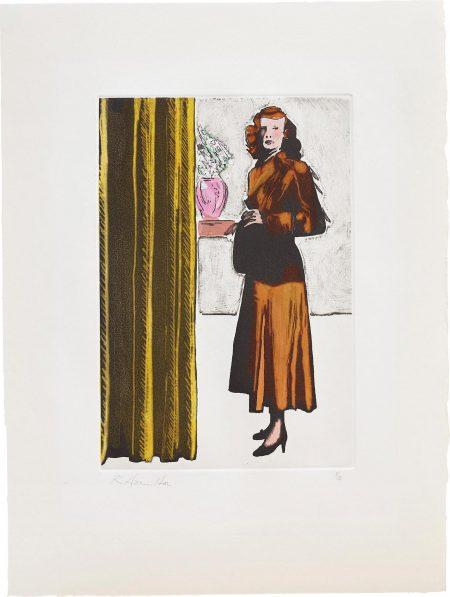 Richard Hamilton-Patricia Knight I (Coloured)-1982