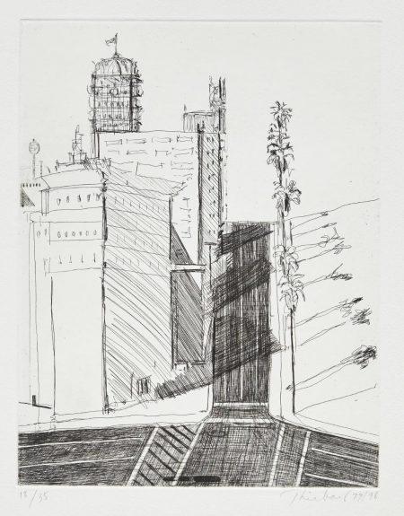 Wayne Thiebaud-Hotel Corner-1998