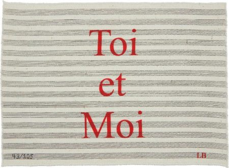 Louise Bourgeois-Toi Et Moi-2006