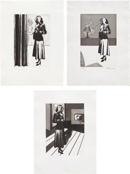 Richard Hamilton-Patricia Knight I; II; And III-1982