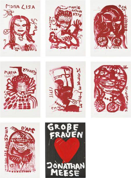 Jonathan Meese-Große Frauen (Great Women)-2007