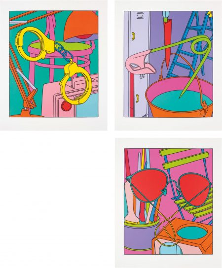 Michael Craig-Martin-Intimate Relations-2001