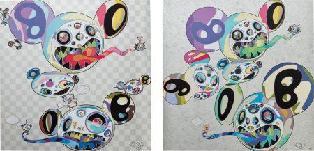 Takashi Murakami-Parallel Universe; And Spiral-2014