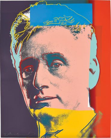 Andy Warhol-Louis Brandeis, From Ten Portraits Of Jews Of The Twentieth Century-1980