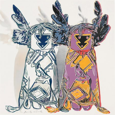 Andy Warhol-Kachina Dolls, From Cowboys And Indians-1986