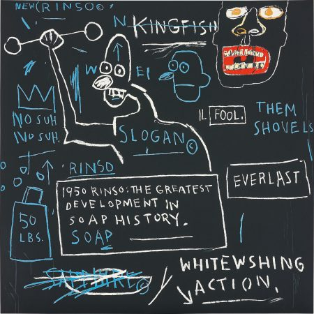 After Jean-Michel Basquiat - Rinso-2001