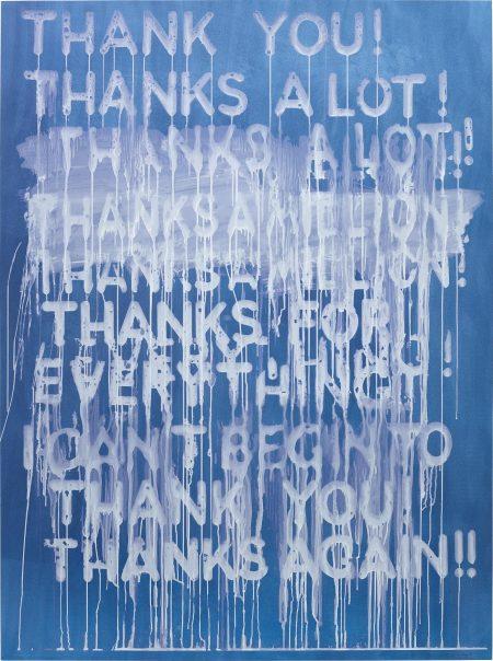 Mel Bochner-Thank You!-2014