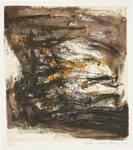 Zao Wou-Ki-Untitled-1967