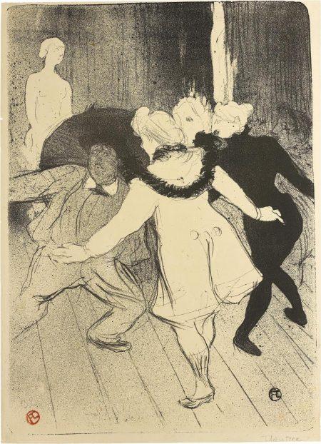 Folies-Bergere: Les Pudeurs De Monsieur Prudhomme-1893