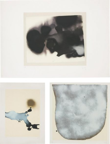 Victor Pasmore-Points Of Contact 1, From Transformations; Points Of Contact No.35; And The Cloud-1986