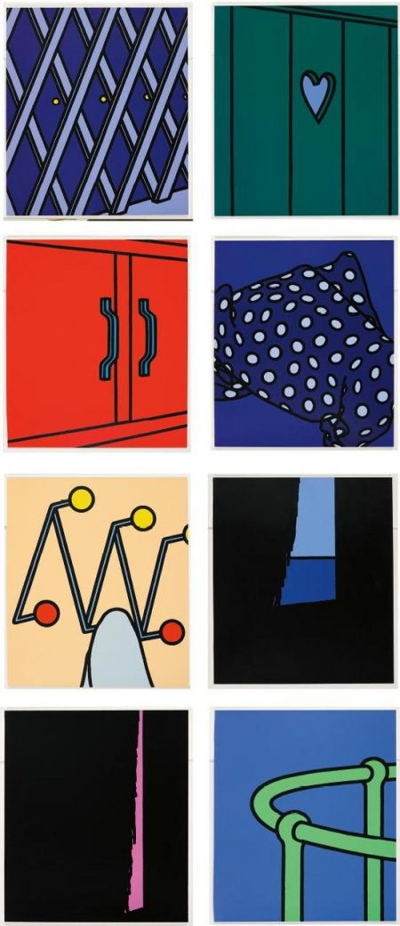 Patrick Caulfield-Some Poems Of Jules Laforgue: 8 Plates; And Dressed Lobster-1980