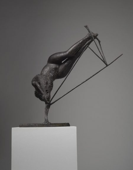 Figure In Space-1958