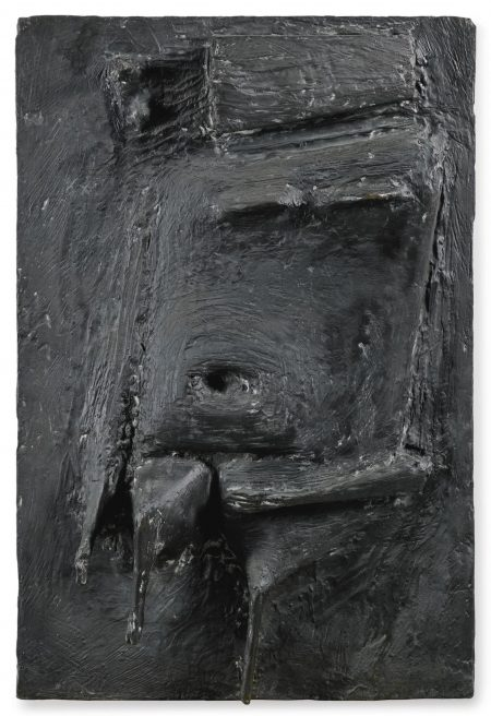 Kenneth Armitage-Square Figure Relief-1954