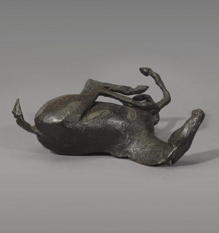 Dame Elisabeth Frink - Rolling Over Horse-1976