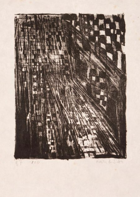 Maria Helena Vieira da Silva-Anniversaire Poligrafa-1979
