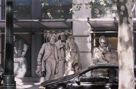 Estudos com escultura publica #3-2010